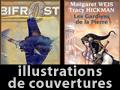 Illustrations de couvertures de romans